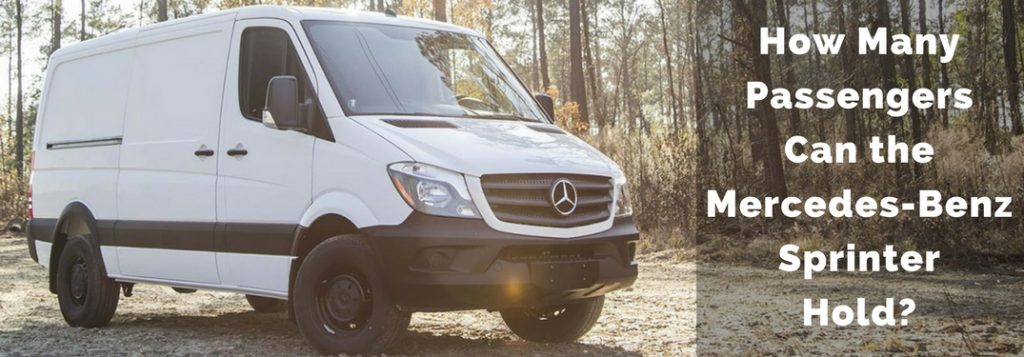 How many passengers can the 2017 mercedes benz sprinter for How much is b service on mercedes benz