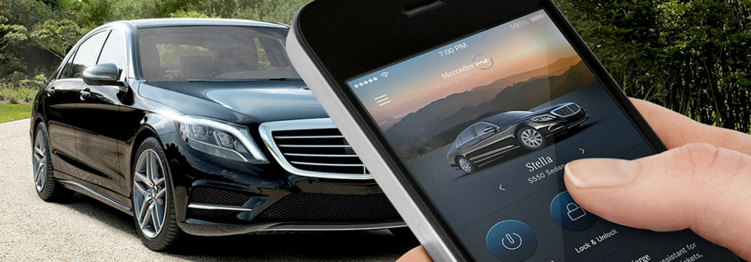 mercedes-benz arrowhead peoria mbrace remote me app application