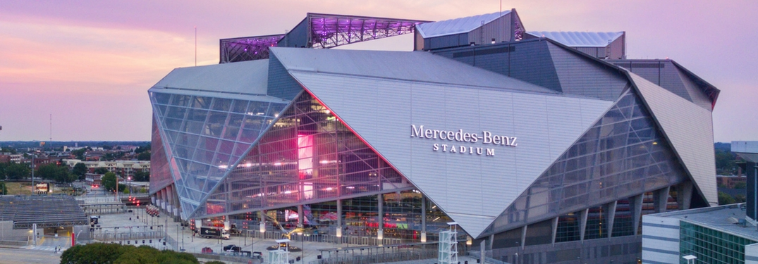 Mercedes benz stadium in atlanta makes its debut sunday for Atlanta ga mercedes benz stadium
