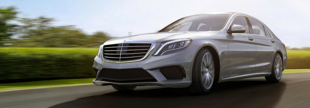 2017 mercedes-benz s-class sedan driving in the sun