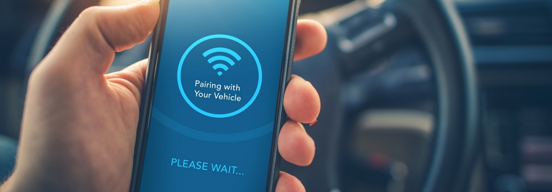 smartphone pairing with wi-fi and bluetooth in car