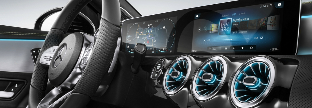 new mercedes-benz mbux infotainment system