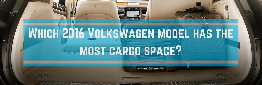 Trunk and interior space in 2016 vw vehicles for Compass motors middletown ny 10940