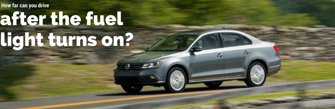 How far can you drive after the vw gas light turns on for Compass motors middletown ny 10940