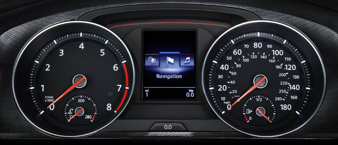 2017 golf gti gauge cluster o compass motors for Compass motors middletown ny 10940