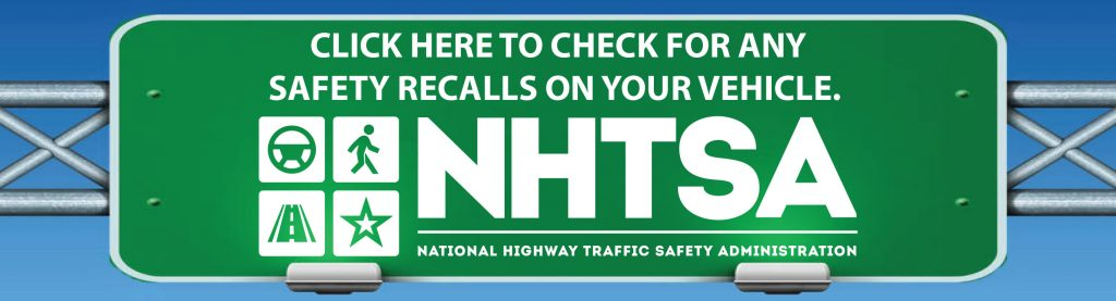 SAFETY RECALLS