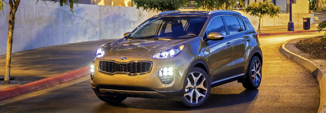 2017 Kia Sportage in copper