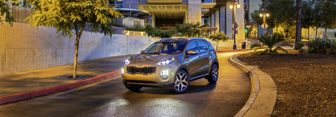Has the 2017 Kia Sportage won any awards