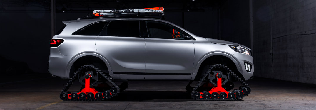 Images of the Kia Sorento tracks concept