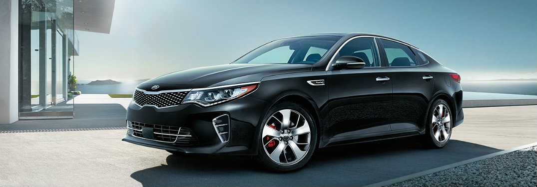 2017 Kia Optima standard features and specs