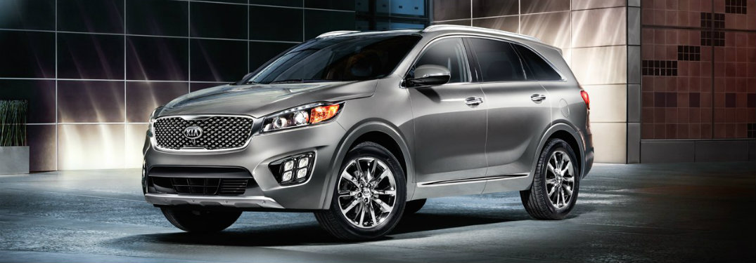 2017 Kia Sorento color options