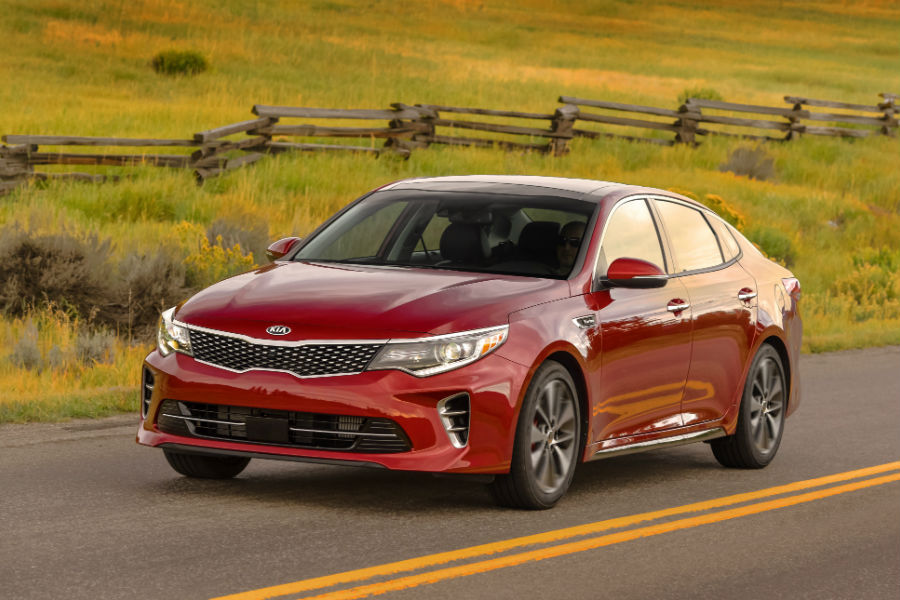 The 2017 Optima can be yours for $99 per month