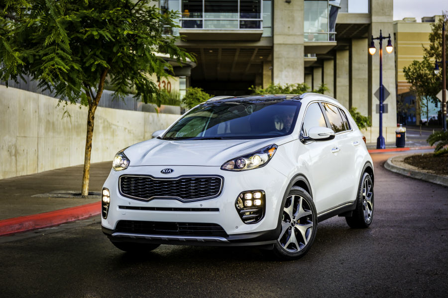 Lease the 2017 Sportage for $129 per month at Motion Kia