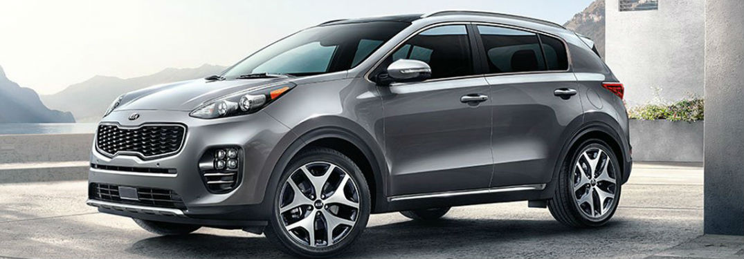 2018 Kia Sportage in gray