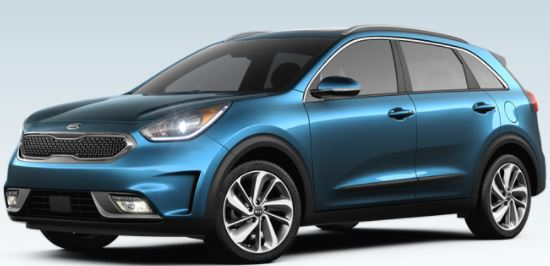 2018 kia niro exterior color choices. Black Bedroom Furniture Sets. Home Design Ideas