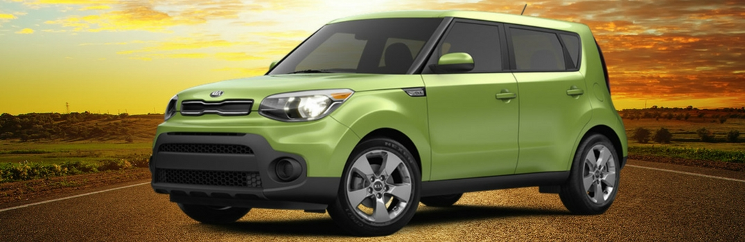 2018 Kia Soul Parked in Desert
