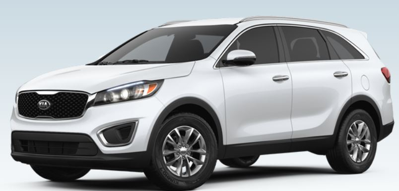 what color options are available for the 2018 kia sorento motion kia