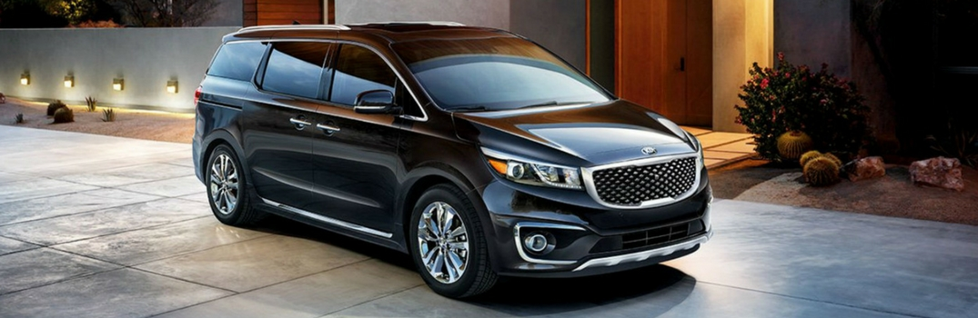 2018 Kia Sedona parked outside