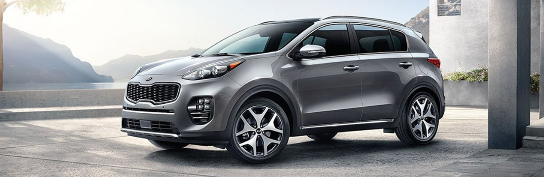 2019 Kia Sportage parked in a room