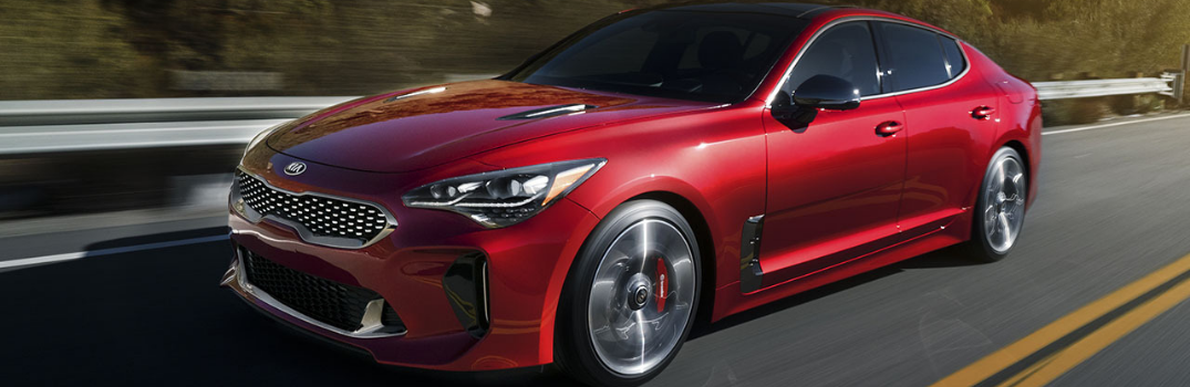2019 Kia Stinger Performance Features and Systems