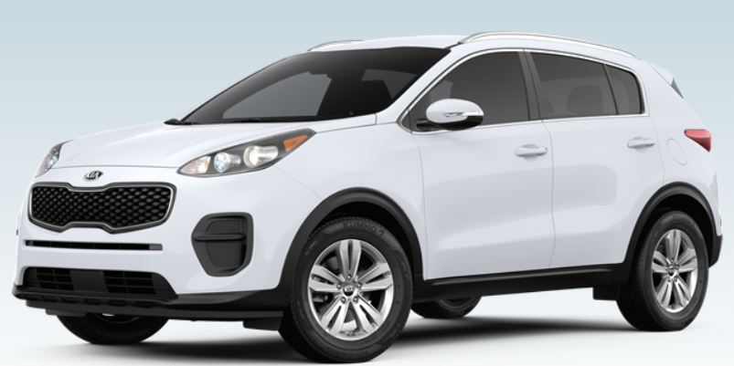 2019 Kia Sportage Color Options