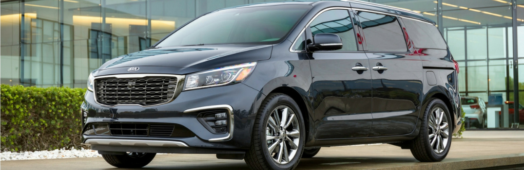 2019 Kia Sedona parked outside