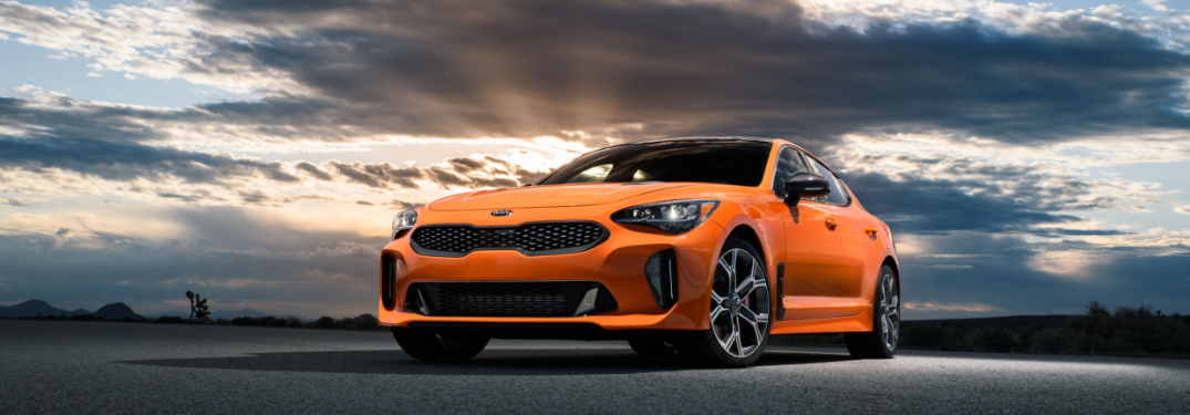 2019 Kia Stinger GTS Special Edition Orange