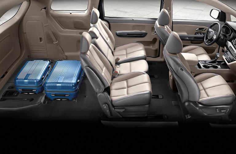 2020 Kia Sedona Interior Seats View O