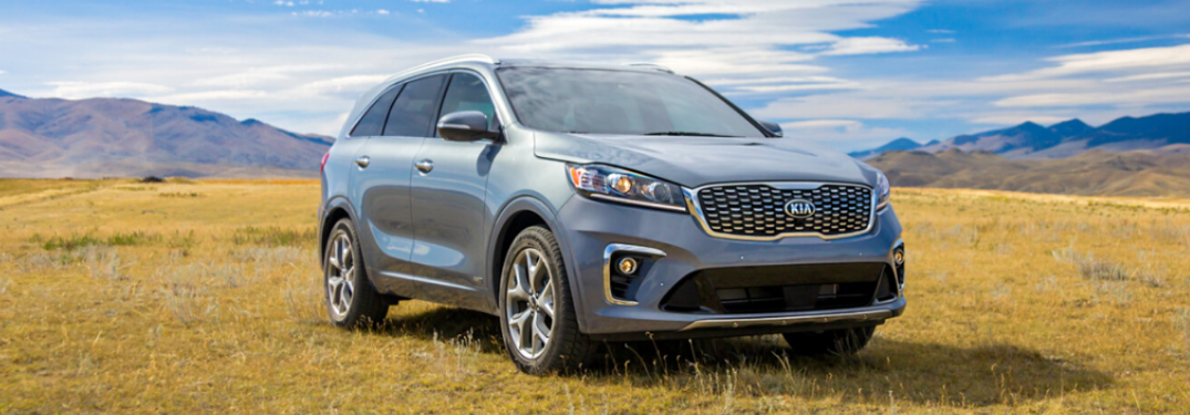 2020 Kia Sorento parked outside