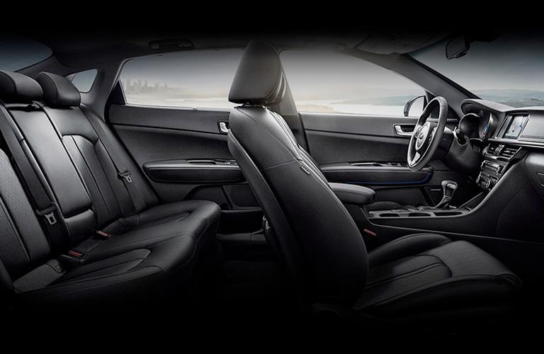 2020 Kia Optima seat side view