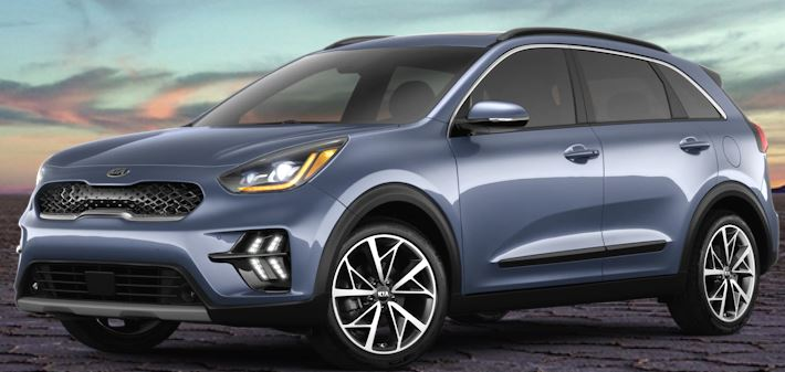 2020 Kia Niro Horizon Blue