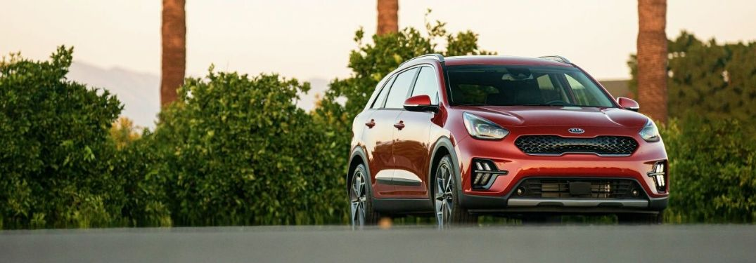 2020 Kia Niro parked outside front view