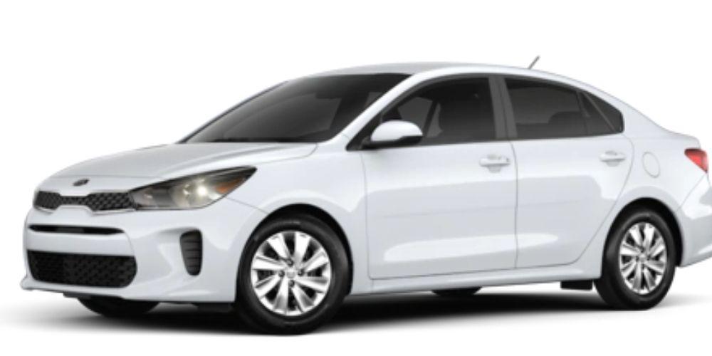 2020 Kia Rio Clear White