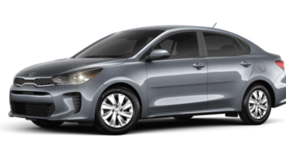 2020 Kia Rio Phantom Gray