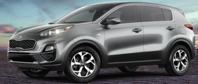 2021 Kia Sportage Steel Gray