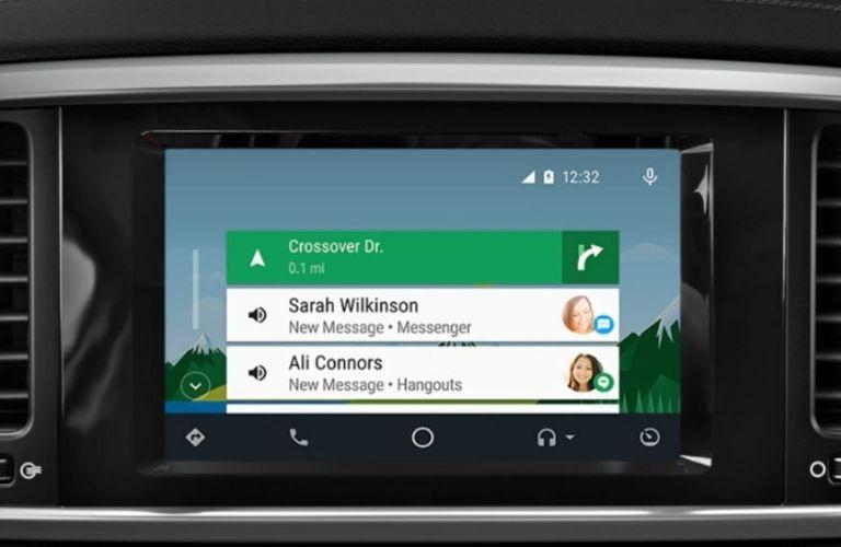 2021 Kia Sportage dash view screen