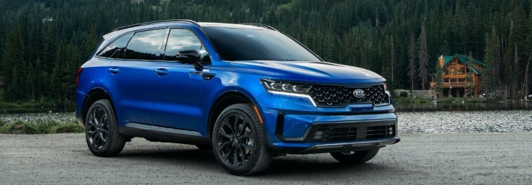 What Exterior Color Options are on the 2021 Kia Sorento?