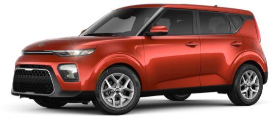 2021 Kia soul Mars Orange