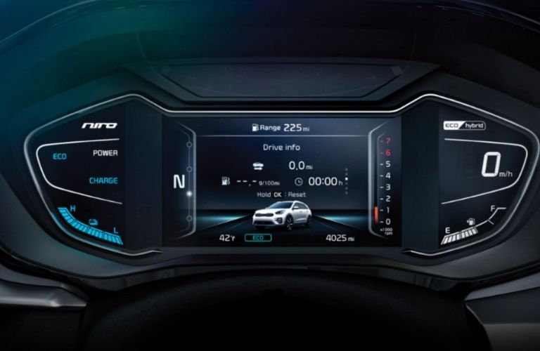 2021 Kia Niro screen display view