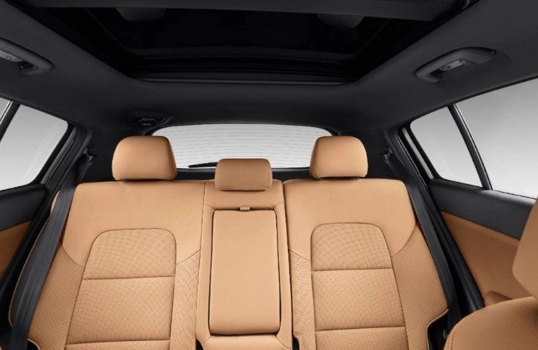 2022 Kia Sportage Beige Leather Interior