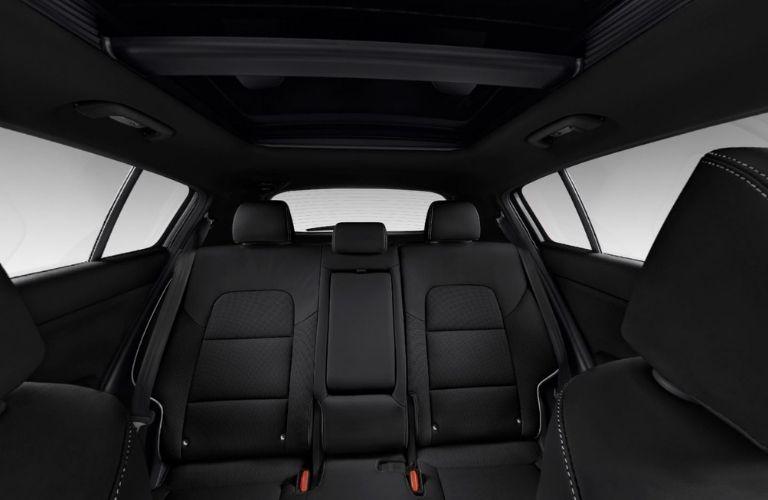 2022 Kia Sportage Black Leather Interior