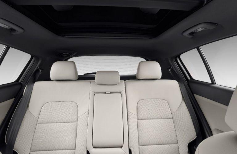 2022 Kia Sportage Gray Leather Interior