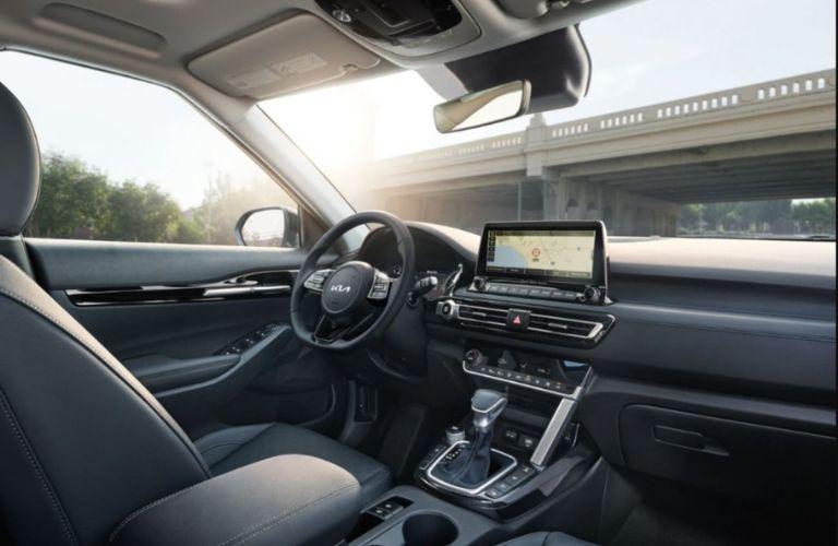 2022 Kia Seltos Interior Dashboard