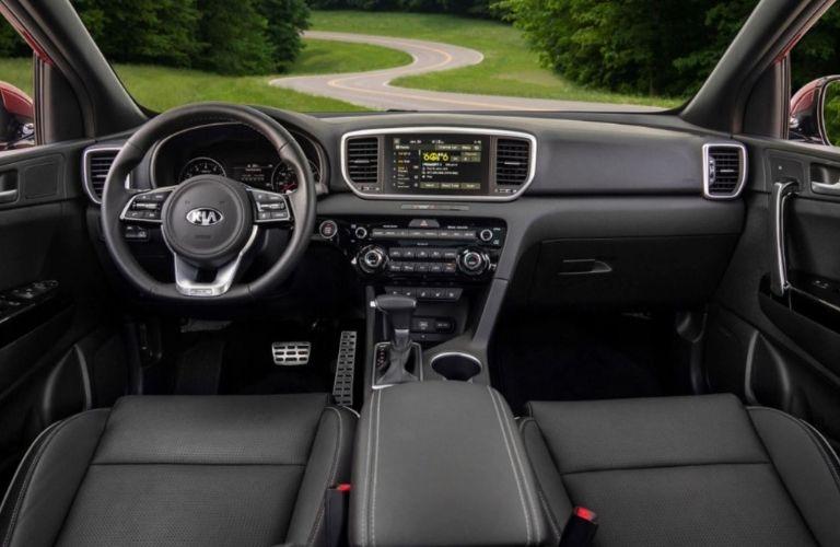 2022 Kia Sportage interior dashboard