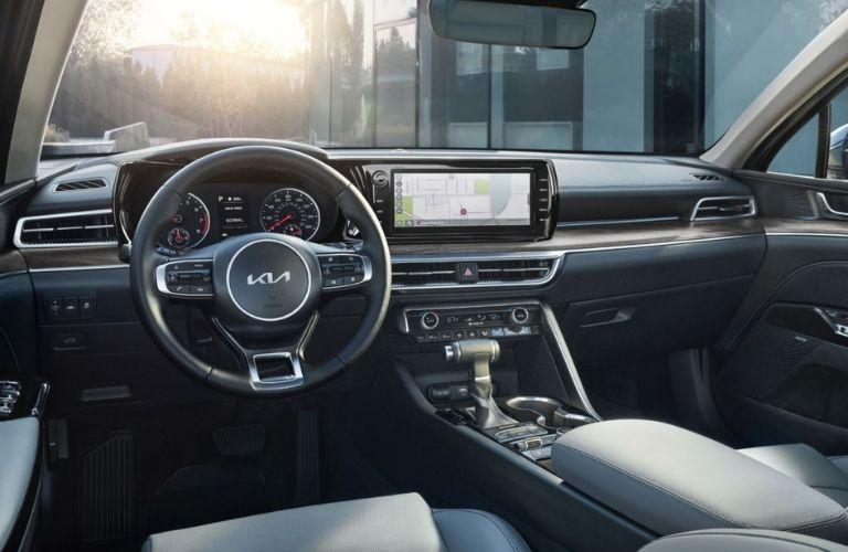 2022 Kia K5 Interior Dashboard