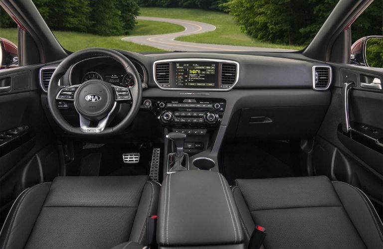 2022 Kia Sportage front interior