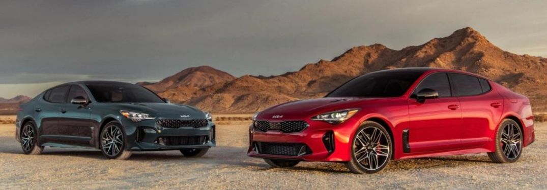 What are the key features of the 2022 Kia Stinger?