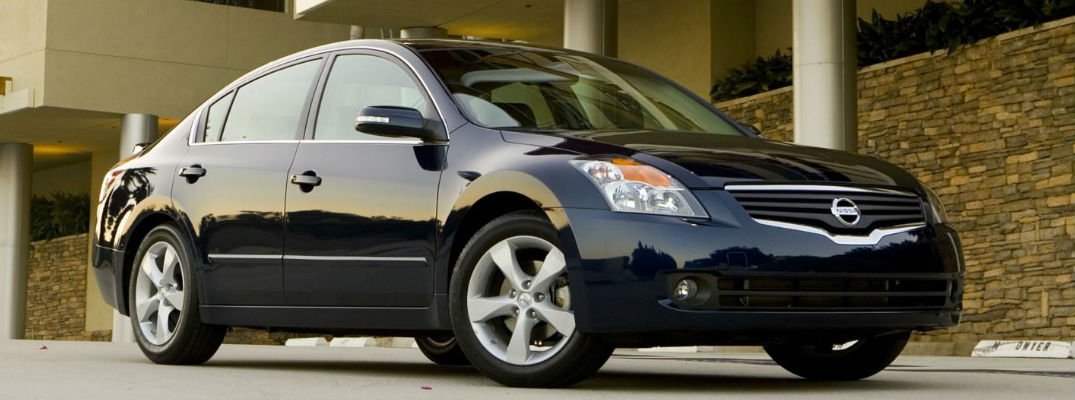 Nissan Altima parked