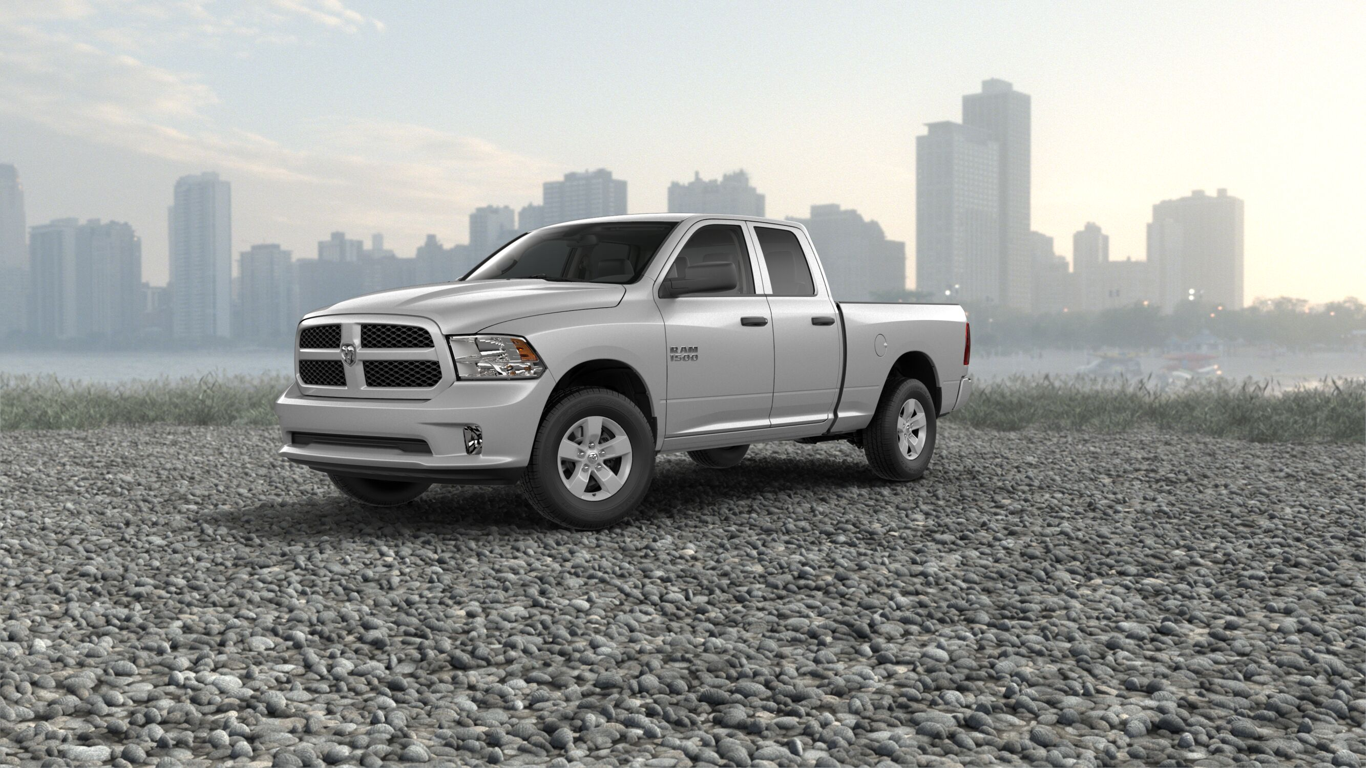 2018 Ram 1500 Bright Silver Exterior Paint o Akins Dodge
