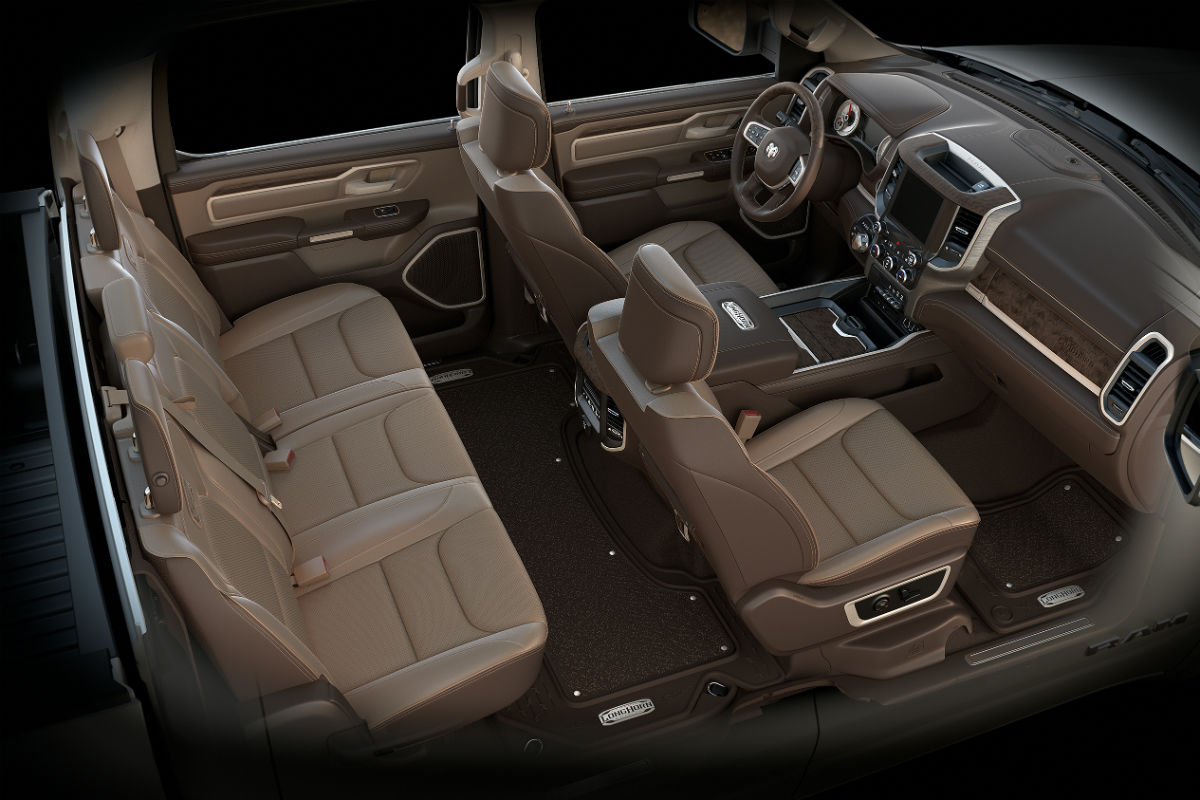 Dodge Ram Longhorn Edition Interior